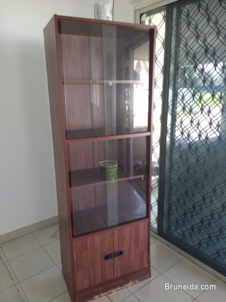 Picture of Very cheap wooden glass cabinet