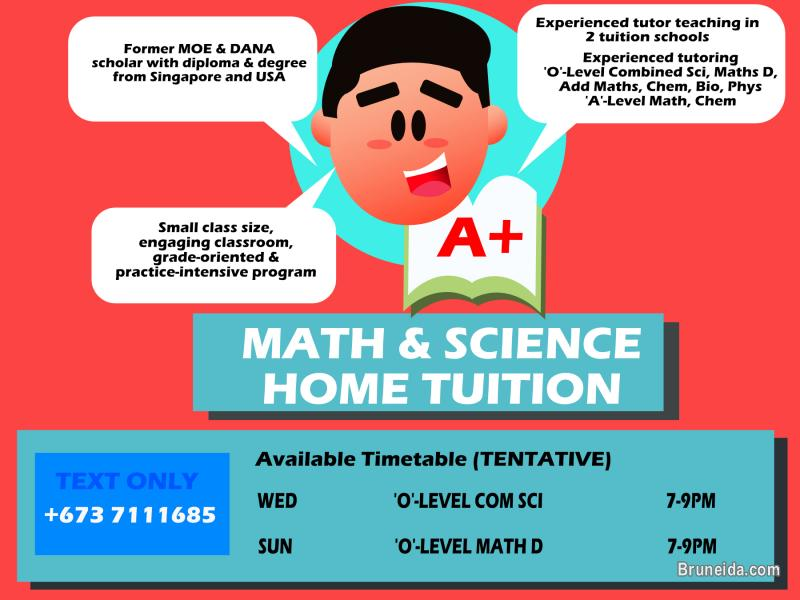 Picture of Math & Science Home Tuition
