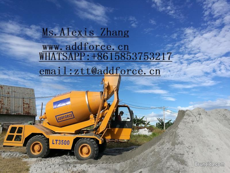 Picture of Sell addforce self loading concrete mixer(whatsapp:+8615853753217
