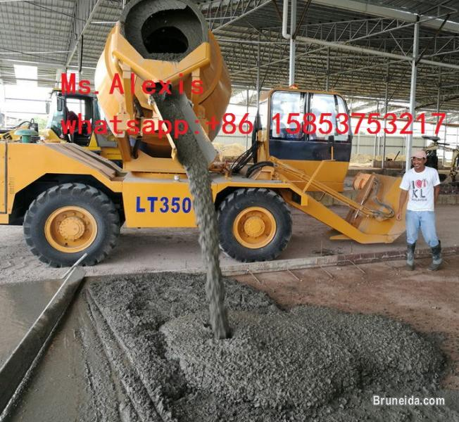 Sell addforce self loading concrete mixer(whatsapp:+8615853753217