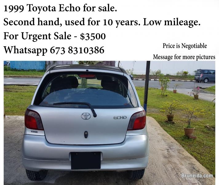 Picture of Silver Toyota Echo for sale