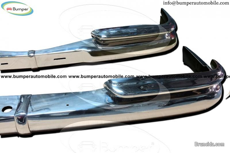 Pictures of Mercedes W111 coupe without rubber year (1959 - 1968) bumpers