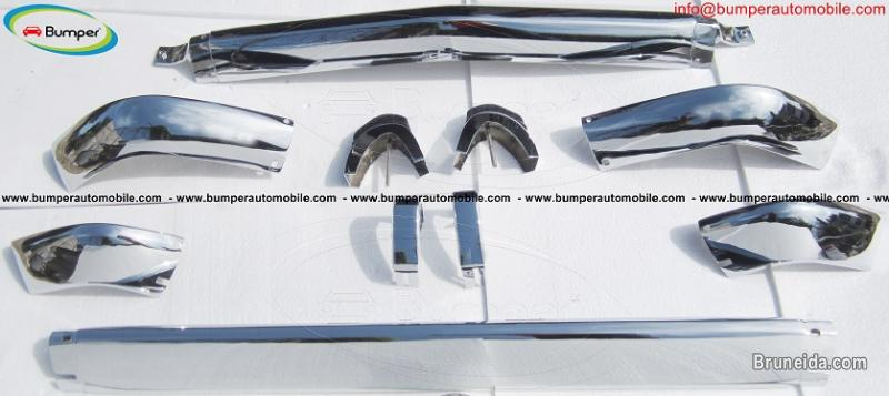 Picture of BMW 2002 bumper short stainless steel (1968-1971)