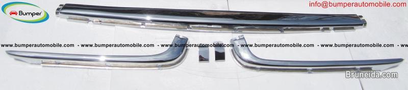 Picture of Mercedes W107SL bumper stainless steel (280SL, 380SL, 450SL) in Belait