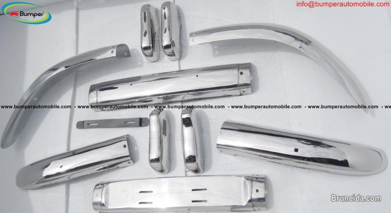 Picture of Volvo PV 544 bumper stainless steel (1958-1965)
