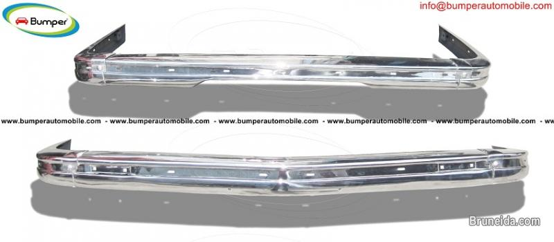 Picture of BMW E21 bumper (1975 - 1983) by stainless steel