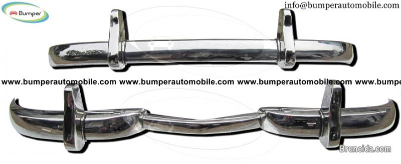 Mercedes W186 300 bumper (1951-1957) stainless steel - image 1