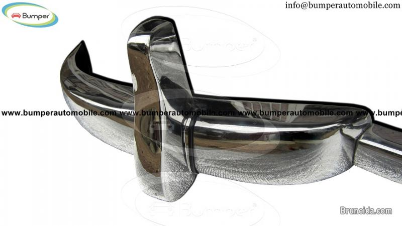 Mercedes W186 300 bumper (1951-1957) stainless steel - image 3