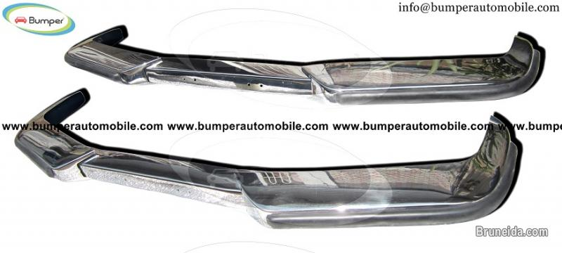 Picture of Volvo P1800 bumper (1963-1973) stainless steel