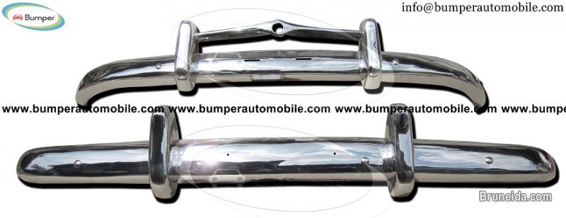 Picture of Volvo PV 444 bumpers (1947-1958) stainless steel
