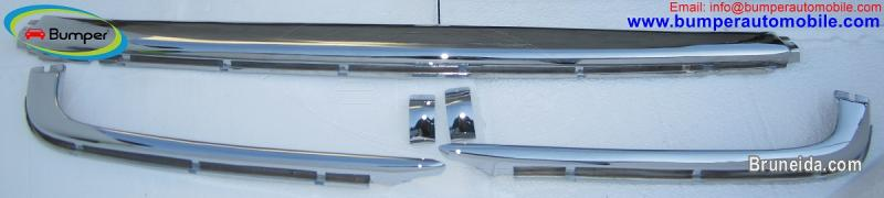 Mercedes W107 Chrome bumper type Euro by stainless steel - image 4