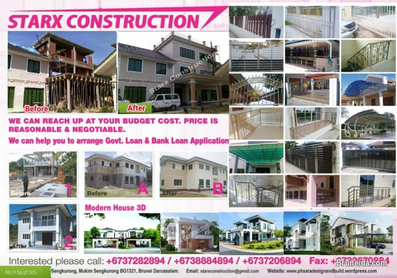 Pictures of Starx Construction