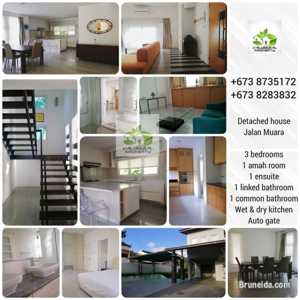 Houses For Rent M: Double Storey House For Rent @ Jalan Muara