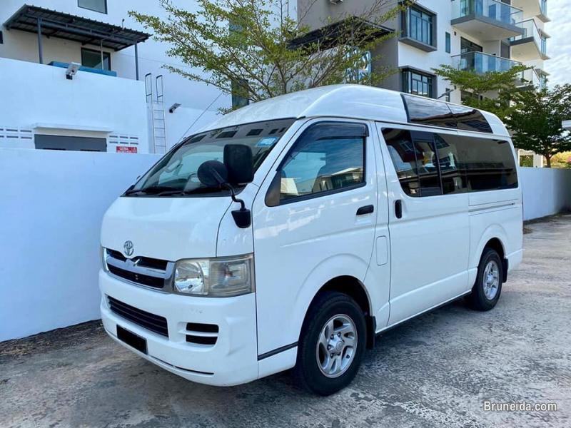 Pictures of Toyota Hiace 2. 5 (High Roof)