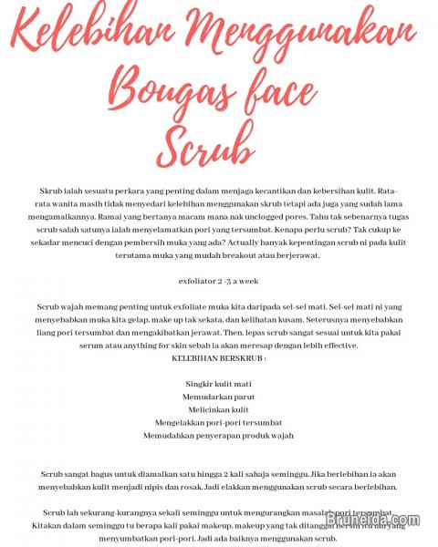 Picture of Bougas Advanced serum & Bougas face scrub