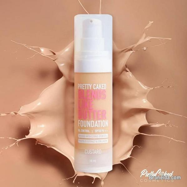 Pretty Caked Blends Like Butter Foundation