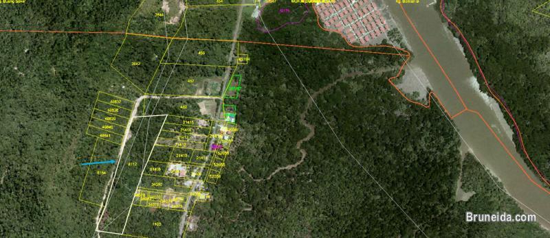 3. 18 acre Land for Sale @ Kampong Kasat, Mukim Lumapas