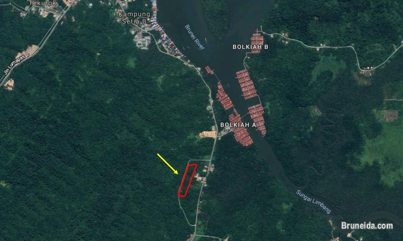 3. 18 acre Land for Sale @ Kampong Kasat, Mukim Lumapas in Brunei Muara