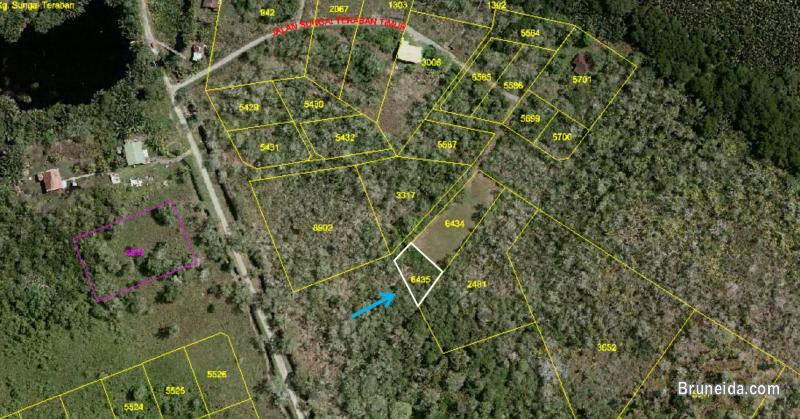 0. 211 acre Land for Sale @ Kampong Sungai Teraban, Kuala Belait