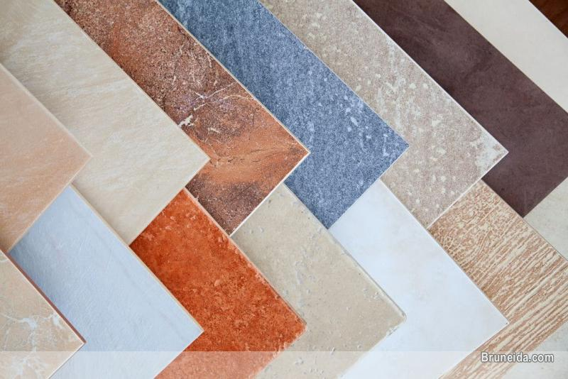 Picture of Ceramic tiles and natural stones