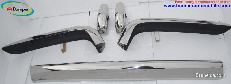 Picture of Rolls Royce Silver Shadow bumper in stainless steel (1965-1977)