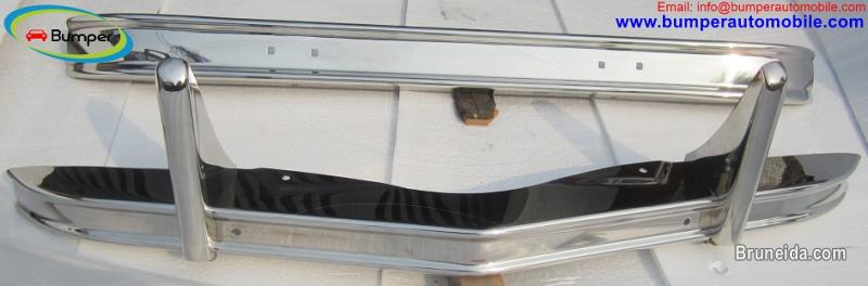 Picture of Citroen 2CV bumper in stainless steel (1948-1990)