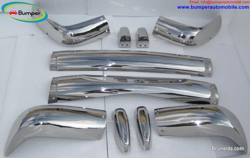 Picture of Volvo Amazon Kombi bumper (1962-1969) in stainless steel