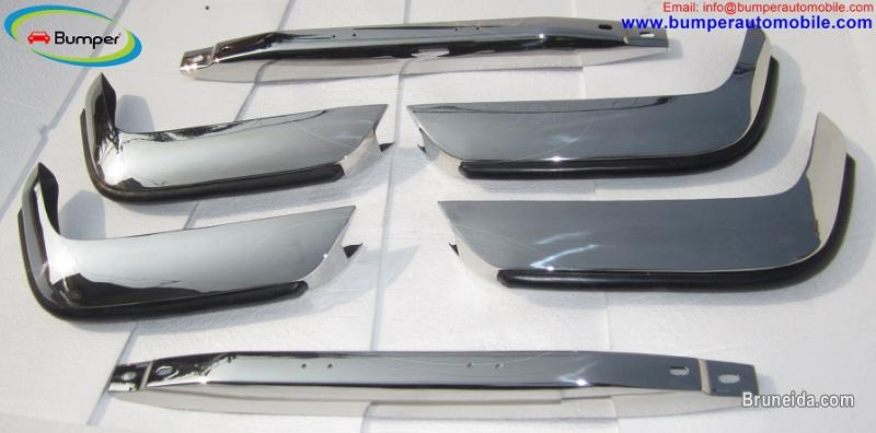 Picture of Volvo P1800 S/ES bumper (1963-1973) in stainless steel