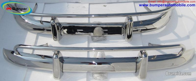 Picture of Volvo PV 544 US type bumper (1958-1965) in stainless steel