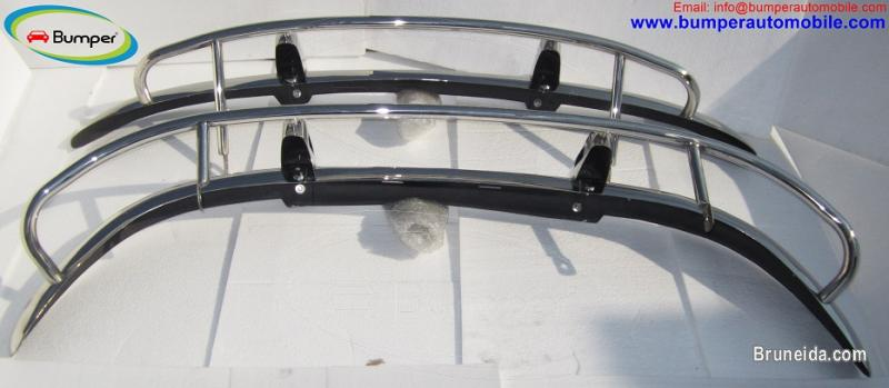 Volvo PV 544 US type bumper (1958-1965) in stainless steel - image 3