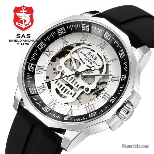 Pictures of SAS Skull Skeleton Watch