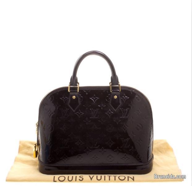 Authentic LV Amarante Alma Handbag - image 2