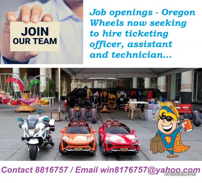 Picture of 3 JOB OPENINGS - APPLY NOW