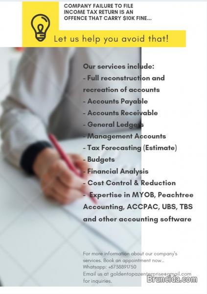 Picture of Bookkeeping/Account Services