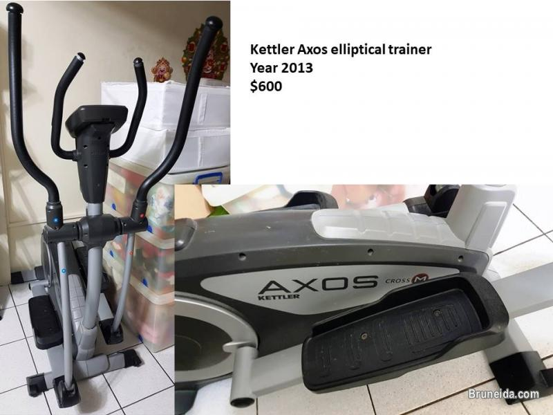 Pictures of Kettler Axos Elliptical