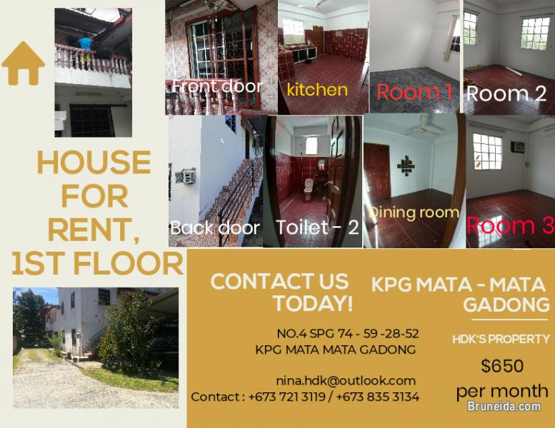 Picture of $650 HOUSE FOR RENT @GADONG