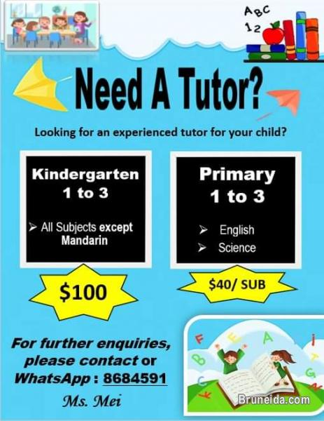 Picture of Quality Tuition For KG 1 to Primary Year 3 Level