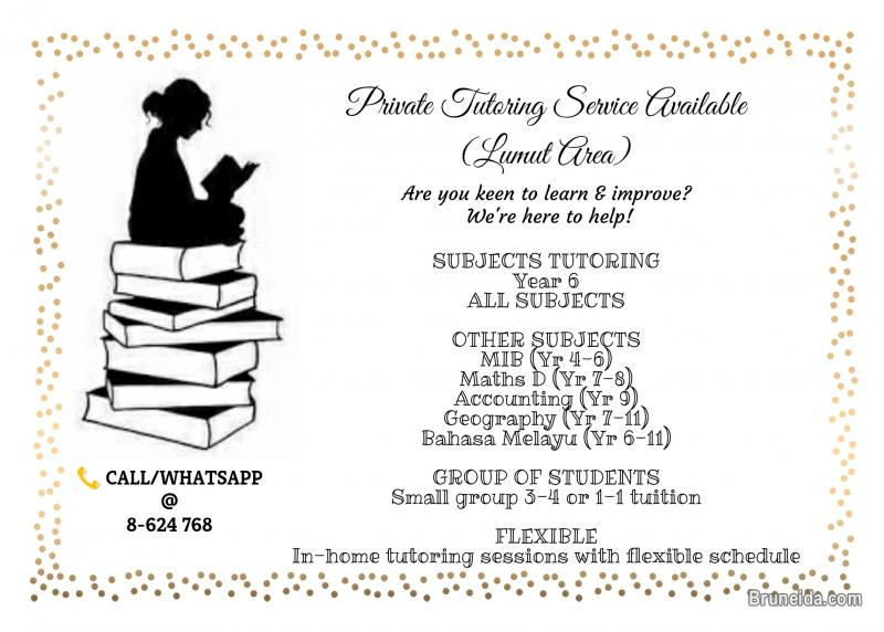Picture of Tutoring Service Available