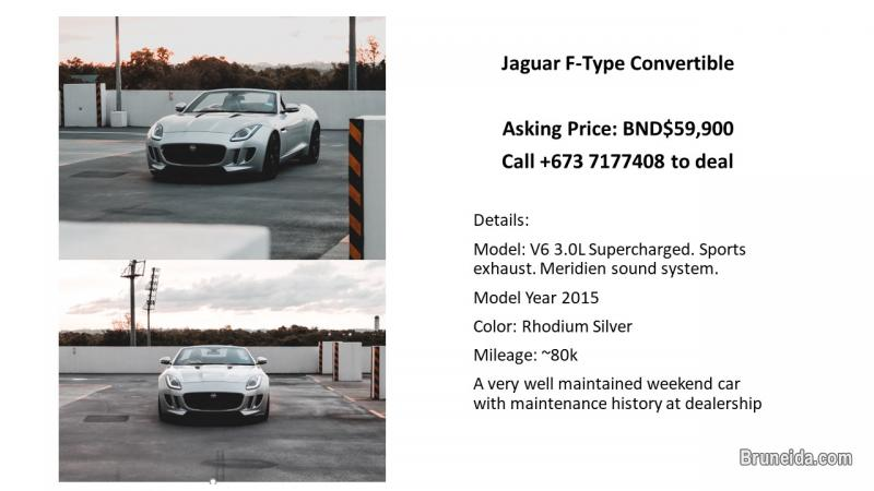 Picture of Jaguar F-Type V6 Convertible
