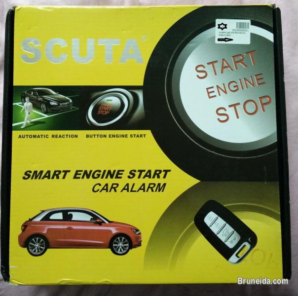 Picture Of Scuta Push Start Alarm With Censor