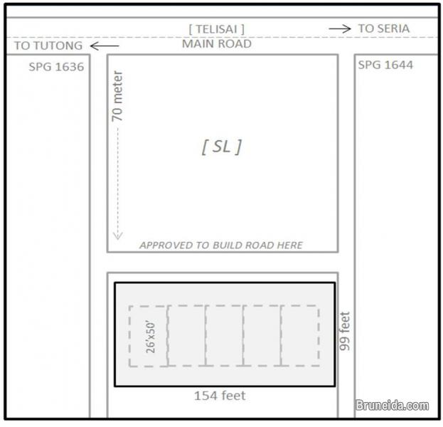 telisai land for sale in Tutong