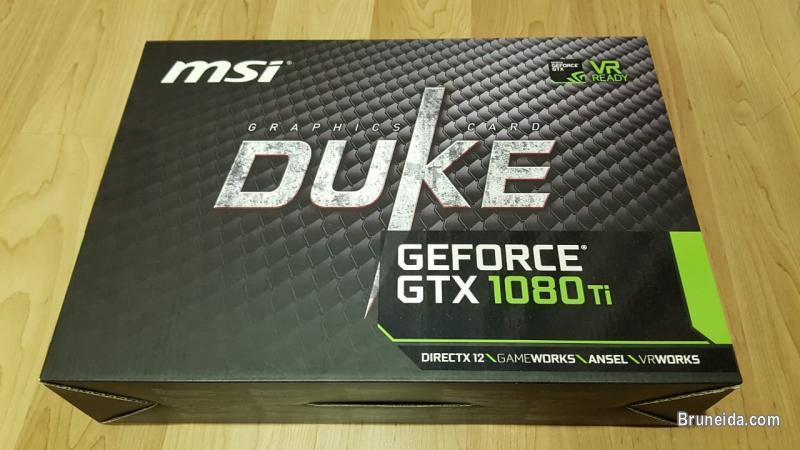 Pictures of MSI 1080Ti Duke