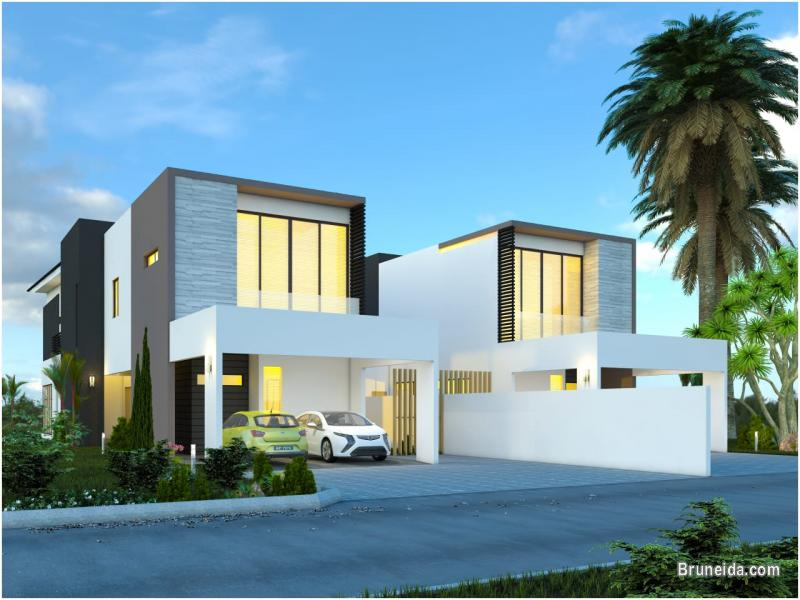 Picture of DH-224 MODERN DESIGN,  LINK-DETACHED HOUSE FOR SALE @ KG MENTIRI
