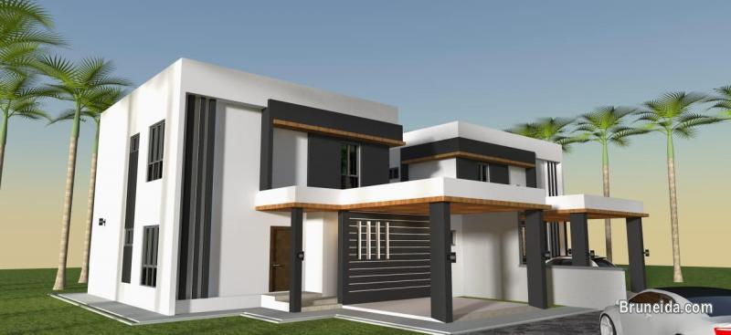 DH-243  LINK-DETACHED HOUSE FOR SALE @ KG MASIN in Brunei Muara