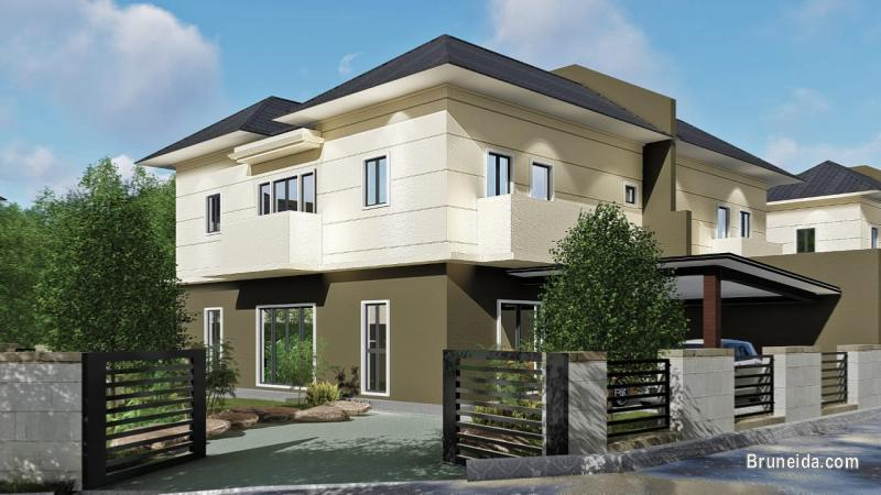 SD-94 SEMI-DETACED HOUSE FOR SALE @ BERAKAS in Brunei Muara