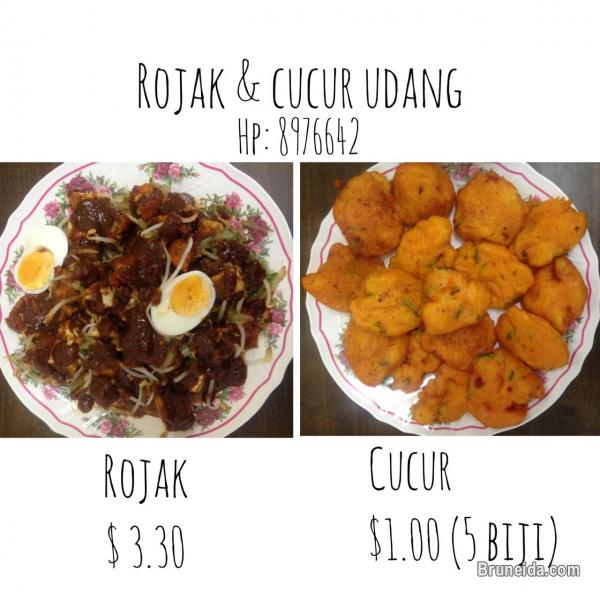 Picture of Rojak Mar, Kuah Kacang & Cucur Udang