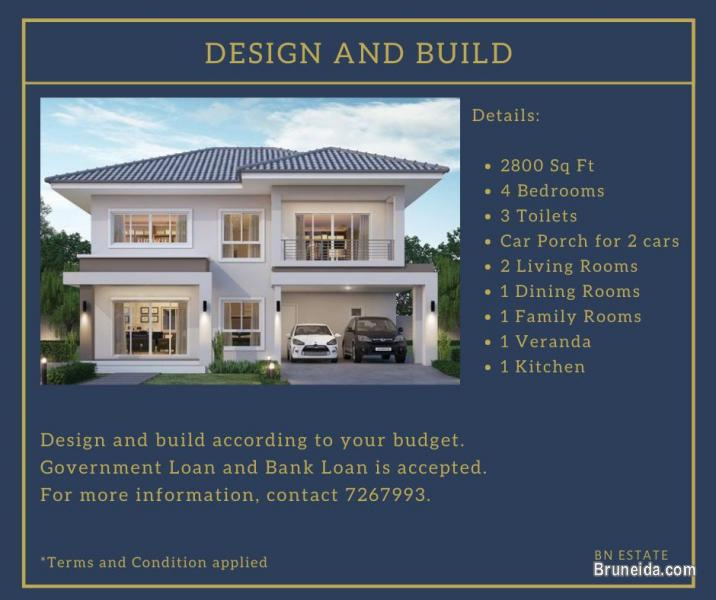 Picture of Design and Build according to your budget!