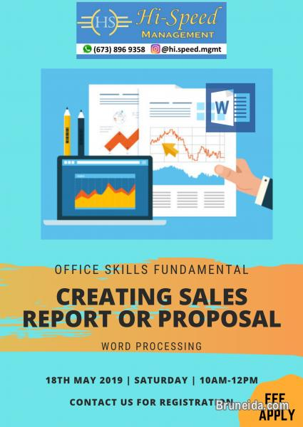 Creating Sales Report or Proposal Workshop - image 1