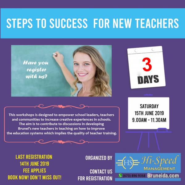 Picture of Steps to success for new teachers workshop
