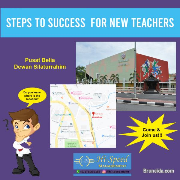 Steps to success for new teachers workshop